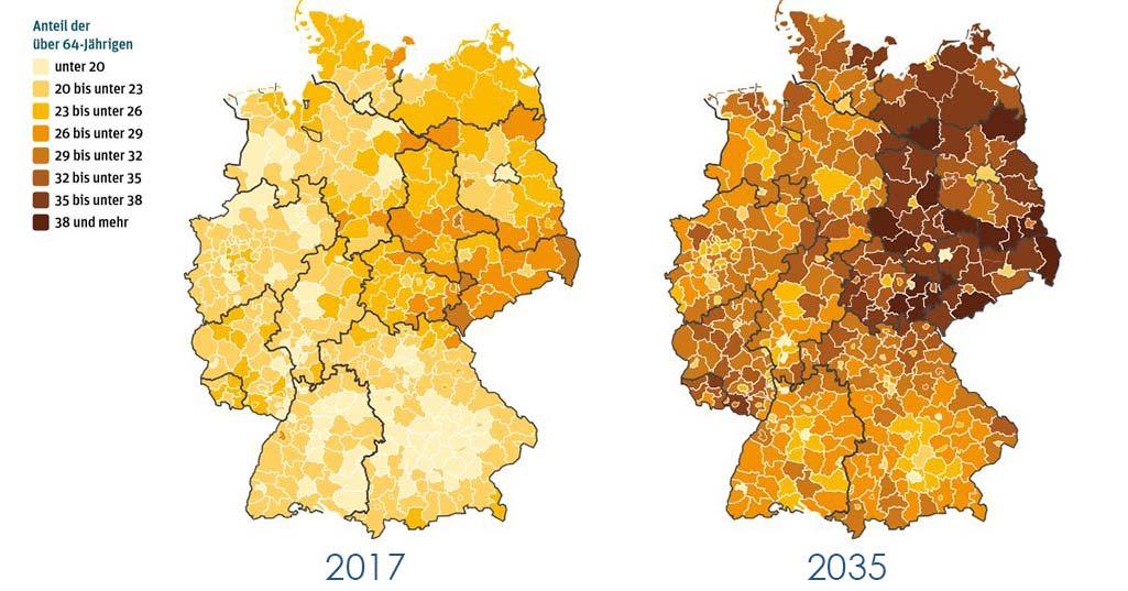 Demographischer Wandel: So entwickelt sich Österreich bis 2040