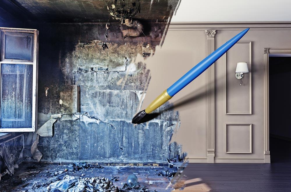 Sanierung vor dem Immobilienverkauf