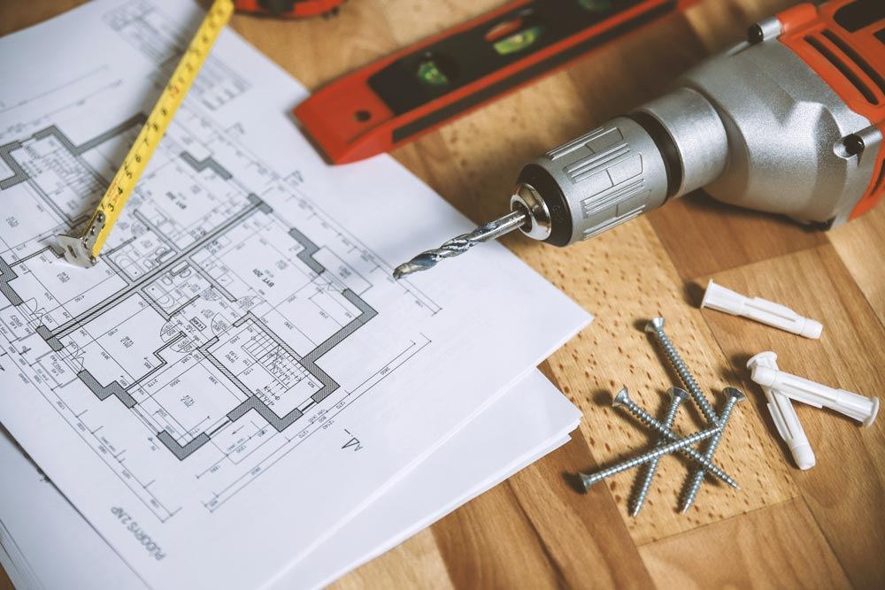 Wohnflächenberechnung
