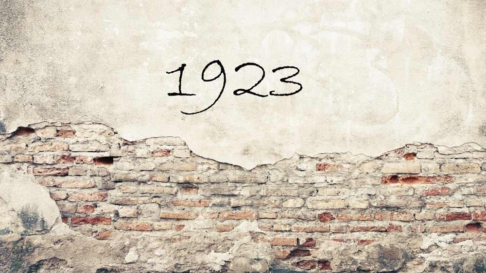 Zahl des Monats:1923