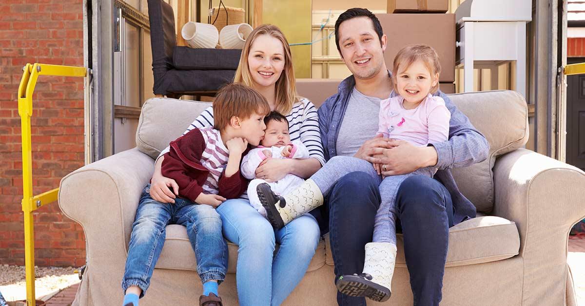 Wenn die Familie größer, aber die Immobilie zu klein wird